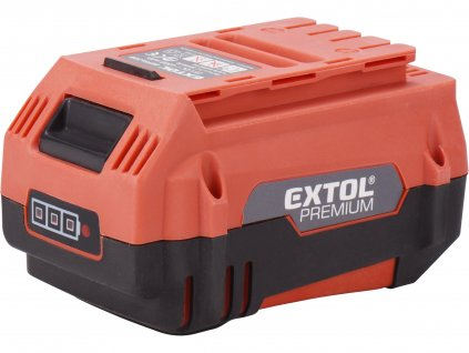 EXTOL PREMIUM 8895630B baterie akumulátorová 25,2V Li-ion, 4000mAh