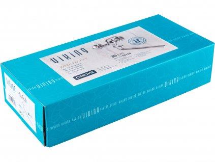 VIKING 65110 baterie jádrová, 100mm, chrom, 35mm, rovné ramínko 30cm