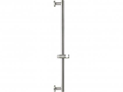 FRESHHH 830309 tyč s posuvným držákem sprchy, celokovová, 71cm, nerez