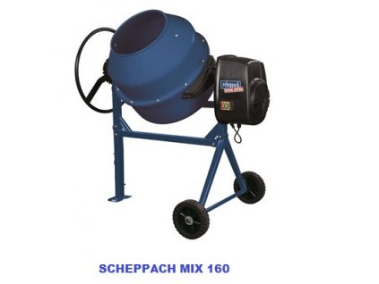 scheppach stavebni michacka na beton mix 160 f1