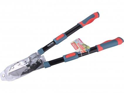 EXTOL PREMIUM 8873316 nůžky na větve teleskopické převodové kovadlinkové, 670-940mm, HCS