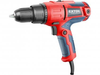 EXTOL PREMIUM 8890505 vrtací šroubovák elektrický, 300W