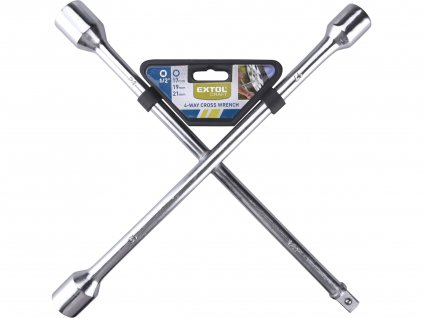 """EXTOL CRAFT 6651 klíč křížový na kola, 17-19-21mm-1/2"""""""