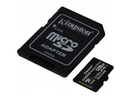 MicroSDXC 128GB UHS-1 SDCS v2 KINGSTON