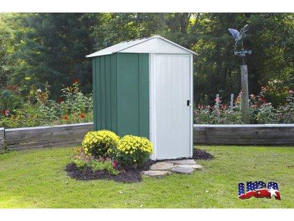 zahradní domek ARROW DRESDEN 54 zelený