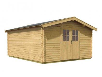 dřevěný domek KARIBU MÜLHEIM 7 (88599) natur