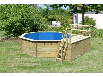 bazén KARIBU 4,0 x 4,0 m C1 (45628)