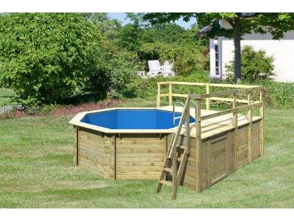 bazén KARIBU 4,0 x 4,0 m E1 (83428)