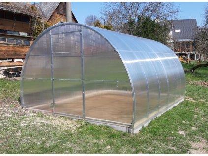 skleník LANITPLAST VOLHA 3,3x12 m PC 8 mm
