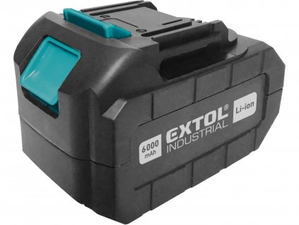 EXTOL INDUSTRIAL 8791115B6 baterie akumulátorová 18V, Li-ion, 6000mAh