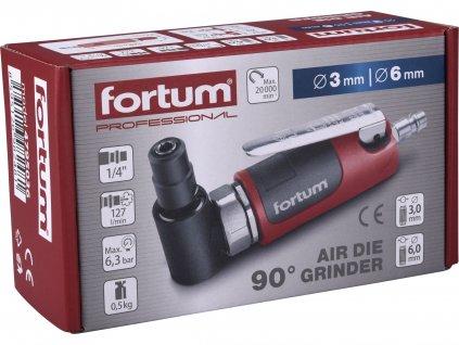 FORTUM 4795036 bruska přímá 90°, pneu, MINI