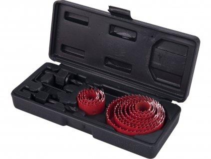 EXTOL PREMIUM 8801606 vrtáky vykružovací korunkové, 12průměrů O 19-76mm