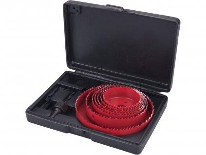 EXTOL PREMIUM 8801607 vrtáky vykružovací korunkové, 7průměrů O 64-127mm
