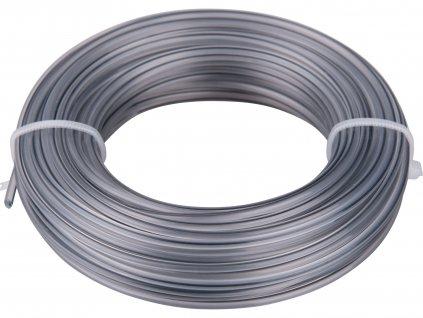 EXTOL PREMIUM 8870903 žací struna do sekačky s jádrem, kruhový profil, 2mm, 15m, PA66