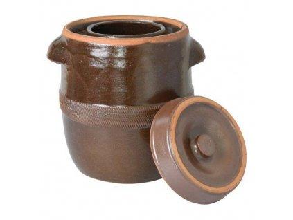 sud na zelí 40l + víko, keramika