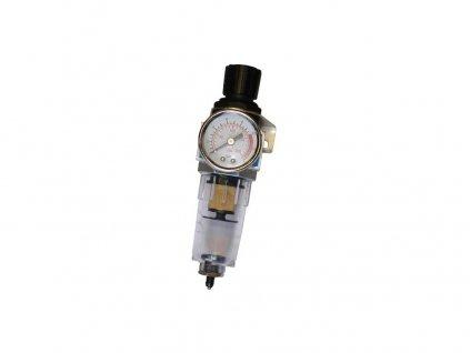 ventil redukční s filtrem/odlučovačem vody 1/4 GÜDE