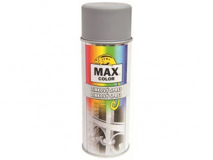 sprej MAX COLOR 400ml zinkový