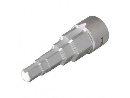"""klíč na radiátorové šroubení (3/8"""",7/16"""",1/2"""",16,21mm) pro 1/2"""" ráčnu"""