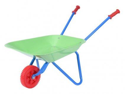 kolečko zahradní dětské 76x40x48cm plechové