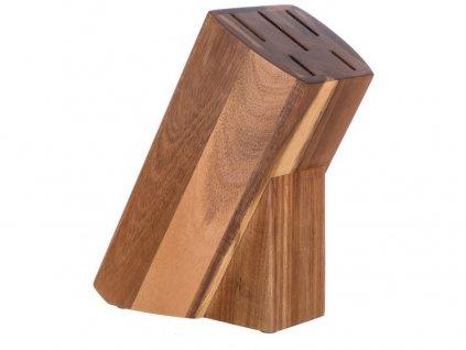 blok na  5 nožů 23x11x10cm dřev. BRILLANTE Acacia