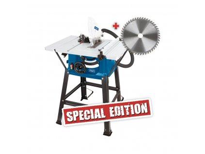 Scheppach HS 81 S Special Edition pila  + druhý kotouč pro jemné řezání + microUSB nabíječka do auta CELLY 1A v hodnotě 189,-
