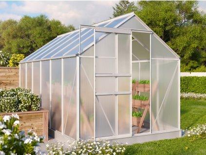 Lanitplast skleník VITAVIA TARGET 7500 PC 4 mm stříbrný