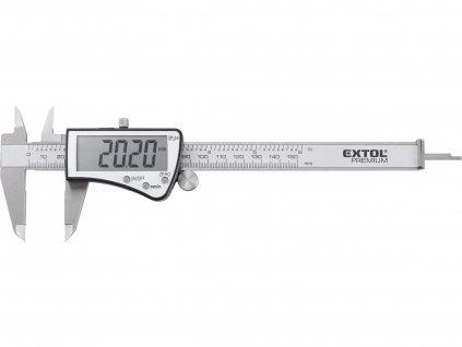 EXTOL PREMIUM 8825227 měřítko posuvné digitální nerez , 0-150mm, IP54