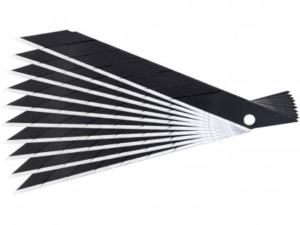 EXTOL PREMIUM 4780028A břity ulamovací do nože 9mm, 10ks, SK2