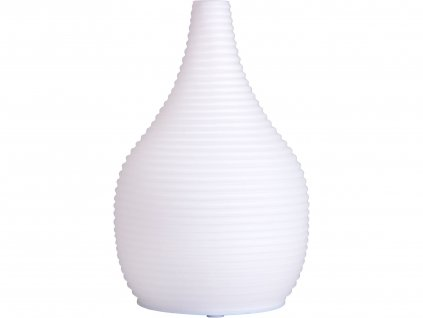 Nature7 569611 aroma difuzér SNOWY - SNĚŽNÝ, osvěžovač a zvlhčovač vzduchu, mléčné sklo, USB