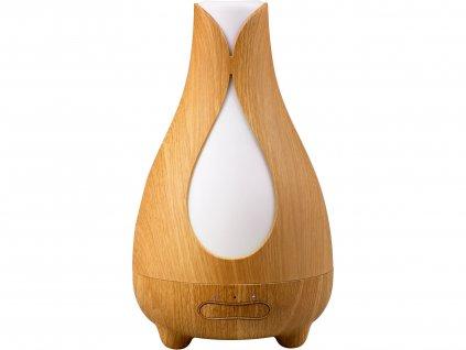 Nature7 569613 aroma difuzér TULIP, osvěžovač a zvlhčovač vzduchu, imitace světlého dřeva