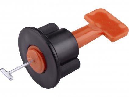 EXTOL PREMIUM 8845010 distanční/nivelační klipy opakovaně použitelné, sada 50ks, pro vyrovnání obkladů/dlažby až do jejich max. tloušťky 17mm