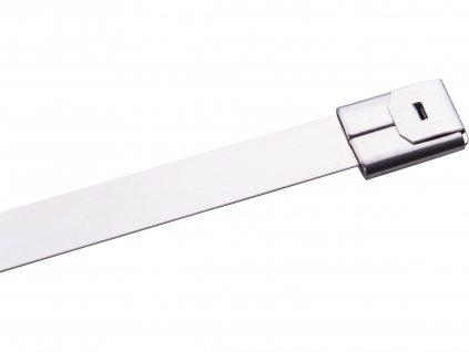 EXTOL PREMIUM 8856273 pásky stahovací NEREZ, 150x4,6mm, 50ks