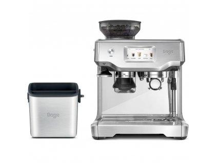Espresso SES880BSS + Odklepávač BES100
