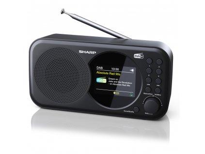 DR-P320(BK) FM/DAP rádiopríjmač SHARP