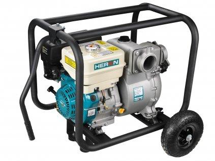 HERON 8895106 čerpadlo motorové kalové 9HP, 1210l/min