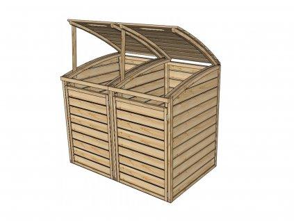 zahradní úložný box LANITPLAST S752
