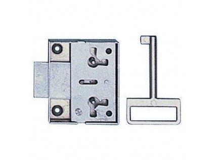 Zámek nábytkový 117/30 klíč