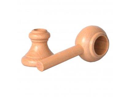 Držák dřev.přírodní lak.