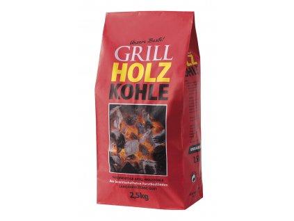 Uhlí dřevěné na gril 2,5kg