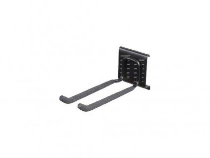 Hák dvojitý dlouhý 7,6x10x22cm BlackHook závěs.systém G21
