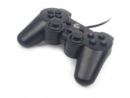 JPD-UDV-01 gamepad vibrace USB GEMBIRD