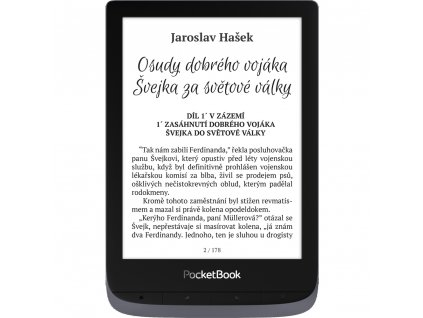 E-book 632 Touch HD 3 Grey POCKETBOOK