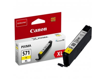 0334C001 žlutý INK CLI571Y XL CANON