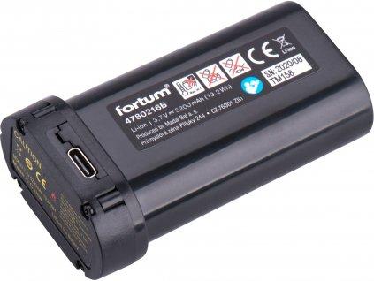 FORTUM 4780216B baterie akumulátorová k laserům, 3,7V, Li-ion, 5200mAh (19,2Wh)