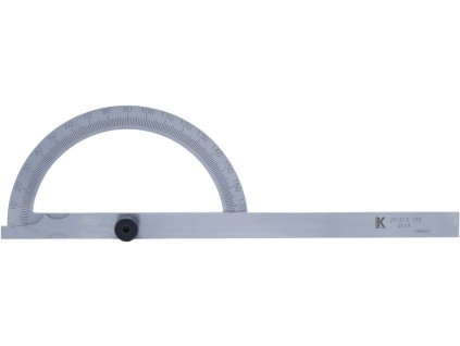 Úhloměr obloukový 200x290mm KMITEX