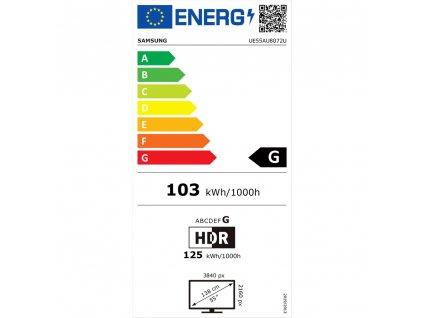 UE55AU8072 LED ULTRA HD LCD TV SAMSUNG