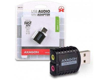 ADA-10 stereo audio adaptér AXAGON