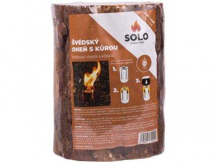 Oheň švédský s kůrou