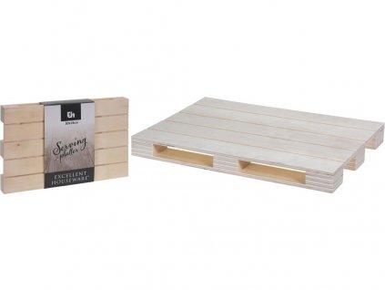 Podnos servírovací 30x19cm dřev.