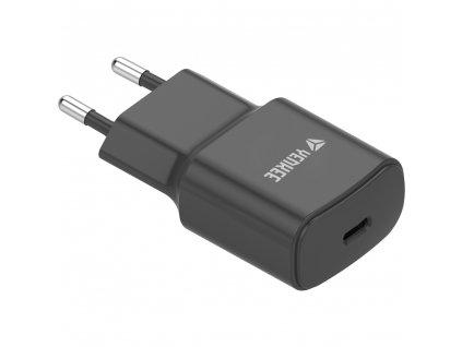 YAC 2033BK USB C Nabíječka 20W YENKEE